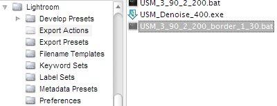 Export Actions Folder