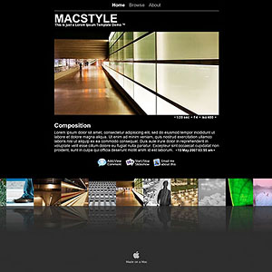 pixelpost template: macstyle v1 2 » Pictures and Code