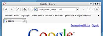 Odyssey Opera 9 skin